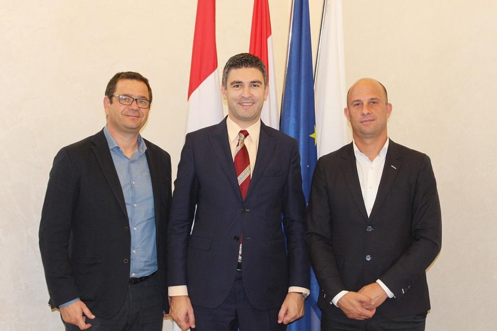 Gradonačelnik Grada Raba u službenom posjetu Gradu Dubrovniku